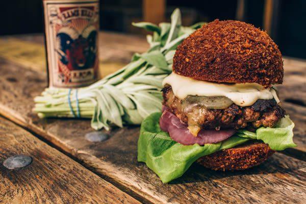 Yeah! Burger Limited Time 'Fringe' Menu