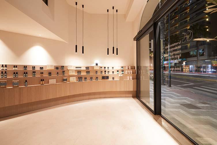 Malaga Salon Design by Carolina Gual