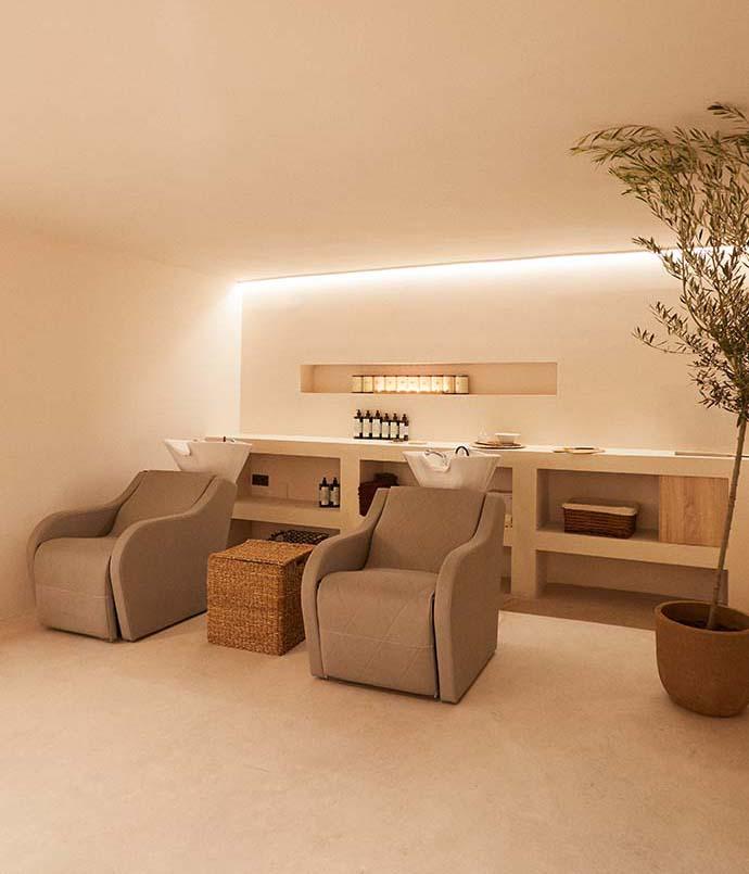 Secretos del Agua Malaga Salon Design by Carolina Gual