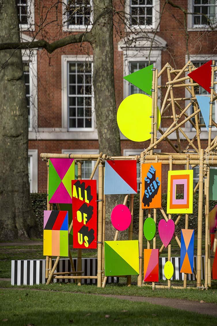 Morag Myerscough, See Through Installation