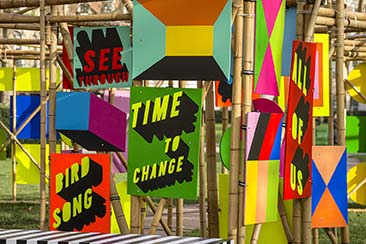 Morag Myerscough, See Through