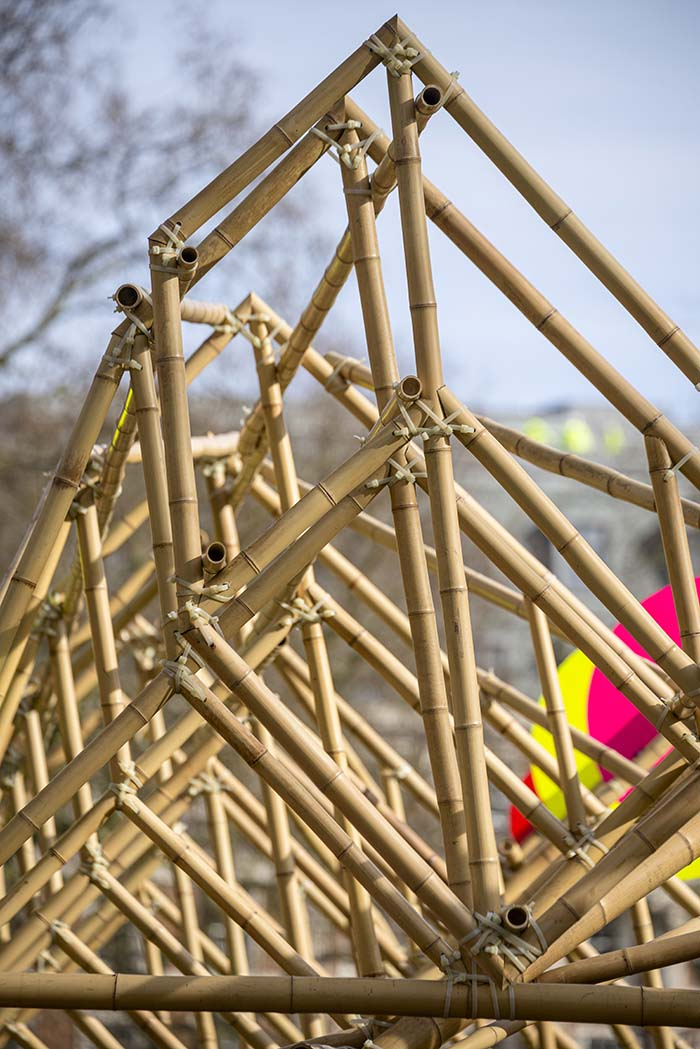 Grosvenor Square London Art Installation