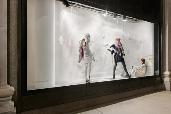 Selfridges' Bright Young Things Windows 2012
