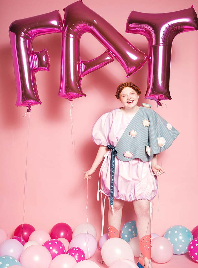 Fatopia-The Celebration of Flesh Size Inclusive Fashion by C'est D. by Doyeon Yoni Yu, Winner in Fashion, Apparel and Garment Design Category, 2018—2019