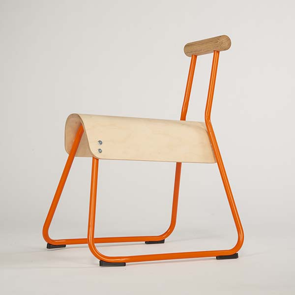 Saddle Seat Chair by Masahiko Ito, Winner in Furniture, Decorative Items and Homeware Design Category, 2018 - 2019
