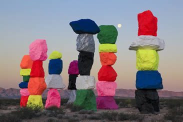 Ugo Rondinone, Seven Magic Mountains