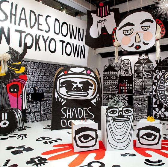 Shades Down In Tokyo Town