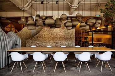 Shan Café at Jing Yuan Art Center, Beijing