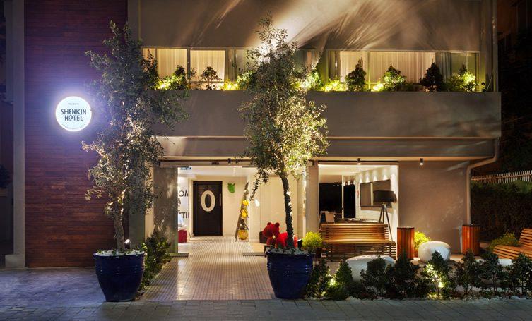 Shenkin hotel tel aviv israel for Design hotel tel aviv