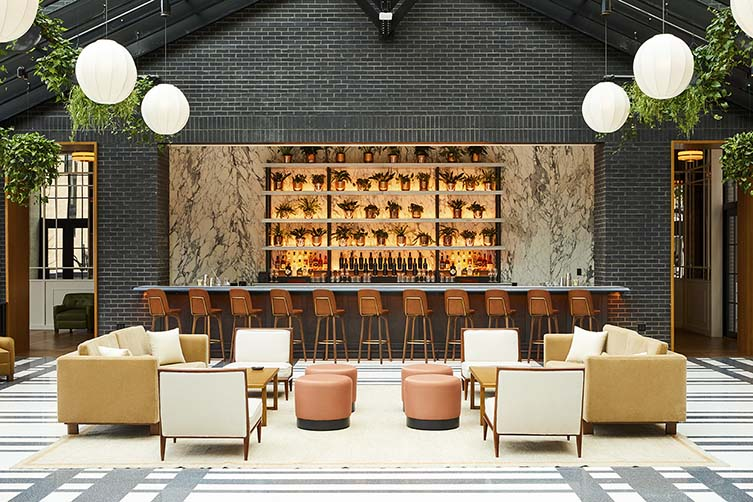 Shinola Hotel Detroit, Downtown Detroit Design Hotel by Kraemer Design Group
