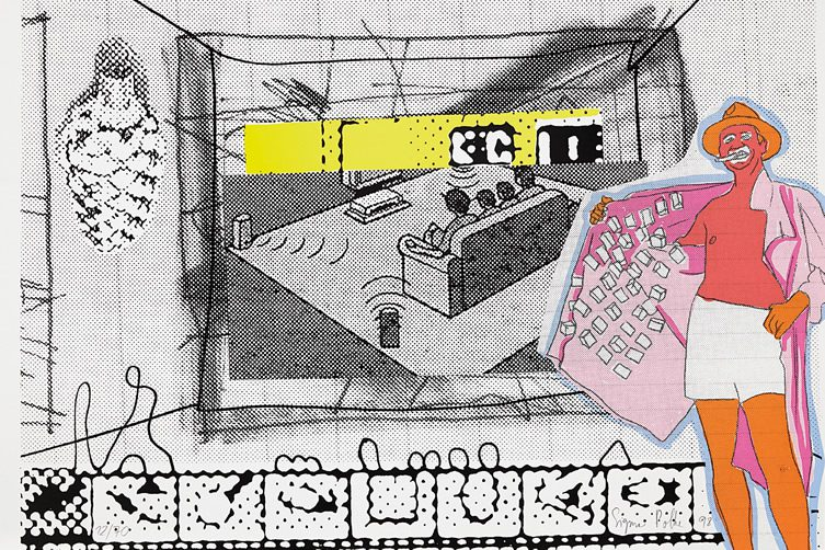 Sigmar Polke A Selling Exhibition From An Important