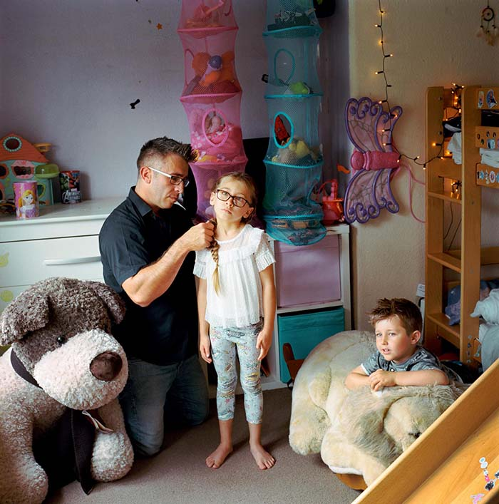 Harry Borden, Single Dad