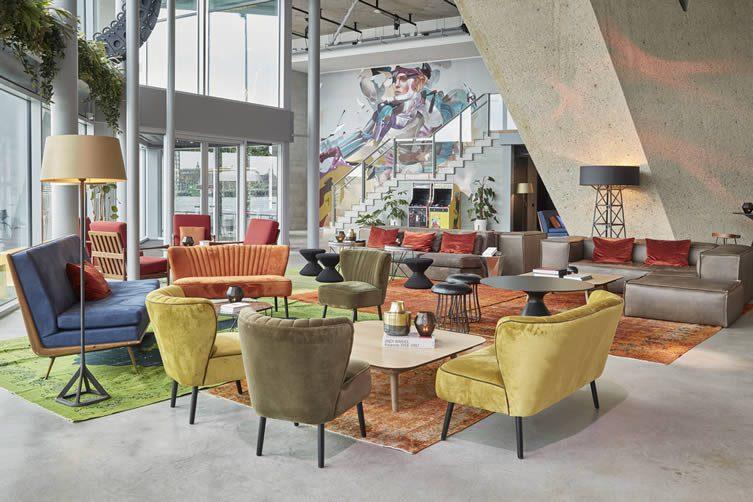 Secret Kitchen The Butcher Amsterdam : Sir Adam Amsterdam, A?DAM Toren Lookout Design Hotel
