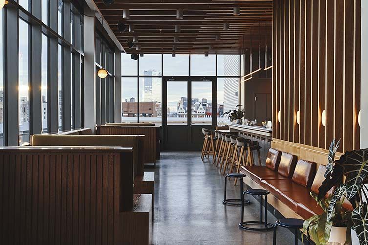 Sister City New York, Lower East Side Design Hotel by Atelier Ace