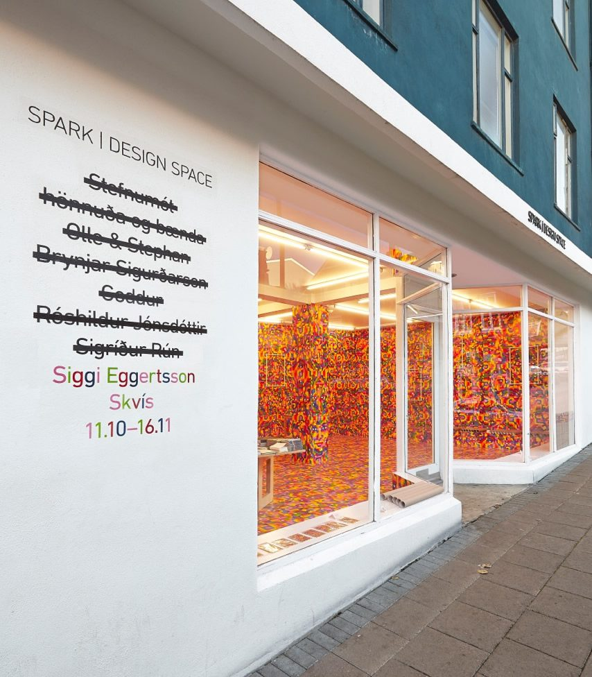 Siggi Eggertsson — Skvís at Spark Design Space, Reykjavík