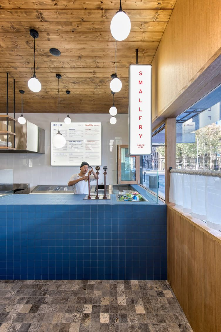 Smallfry adelaide fish shop seafood restaurant by sans arc