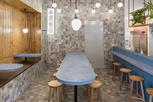Smallfry Adelaide Fish Shop designed by Sans-Arc Studio