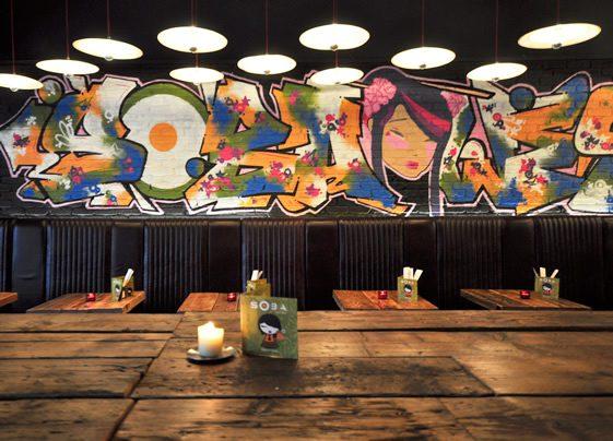 Bar Soba; Byres Road, Glasgow