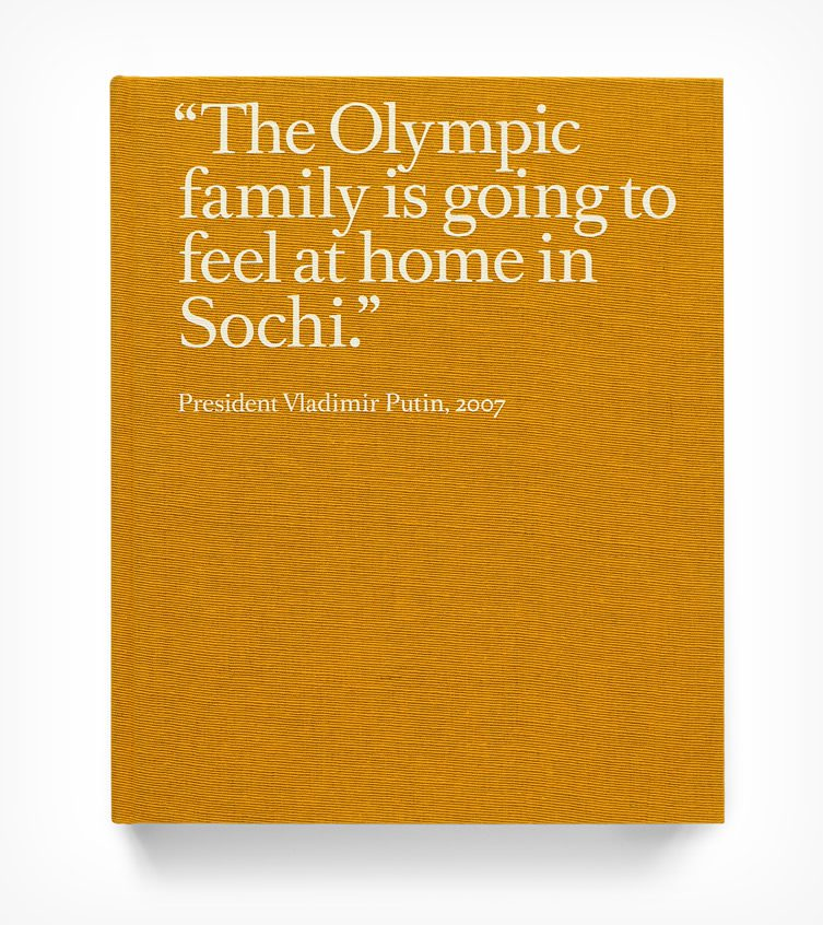 Rob Hornstra and Arnold van Bruggen — The Sochi Project