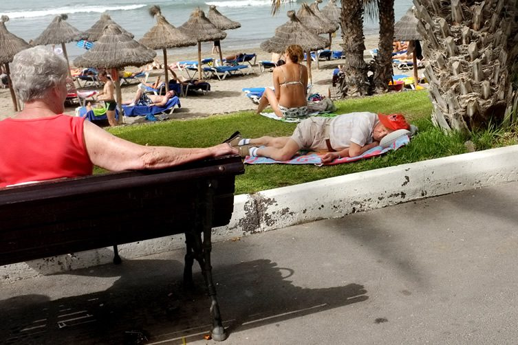 Oliver Weber — Social Life at Beach