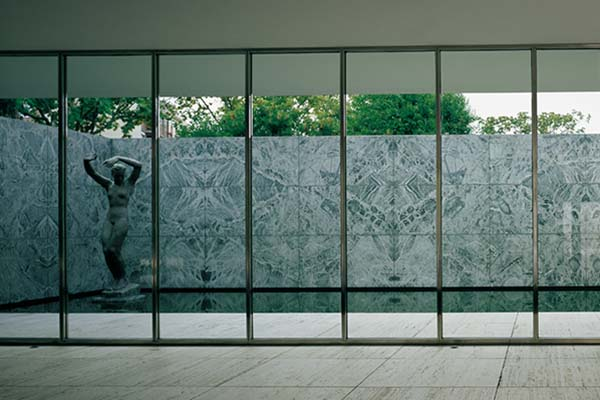 The Barcelona Pavilion © Fundació Mies van der Rohe