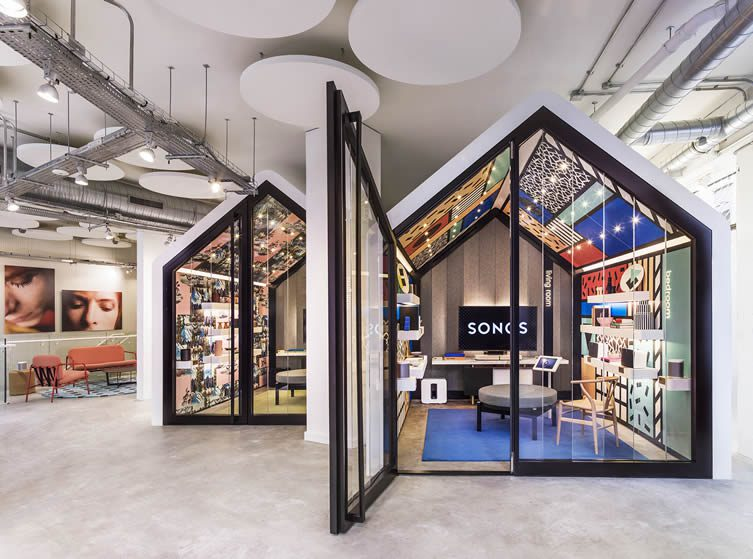 Sonos Concept Store, Seven Dials