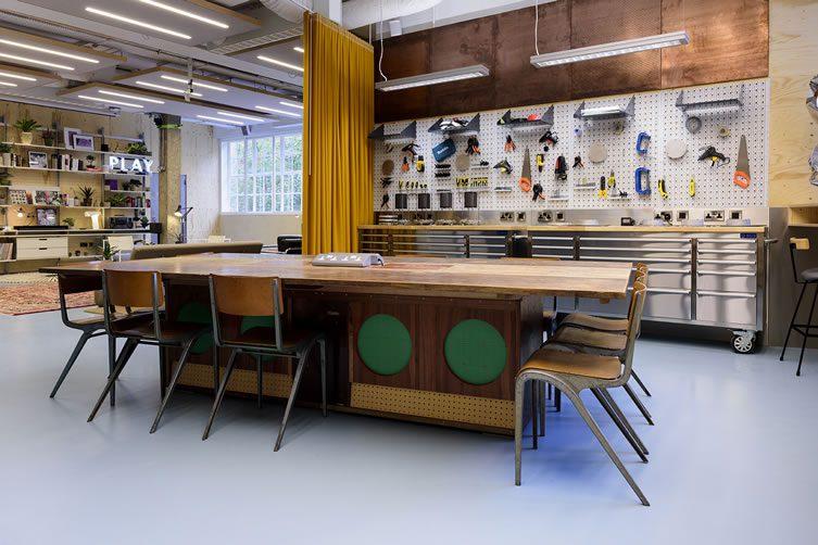 Sonos studio london 21 club row shoreditch for Studio interior design london