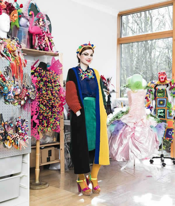 ccd178fecf0f Sophie Cochevelou Interview  Fashion Art Designer