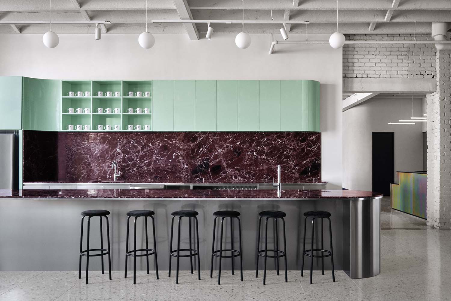 Spacial Offices Montreal Co-Working Space Designed by IVY Studio