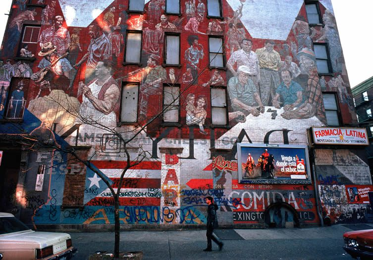 Spanish Harlem in the 1980s