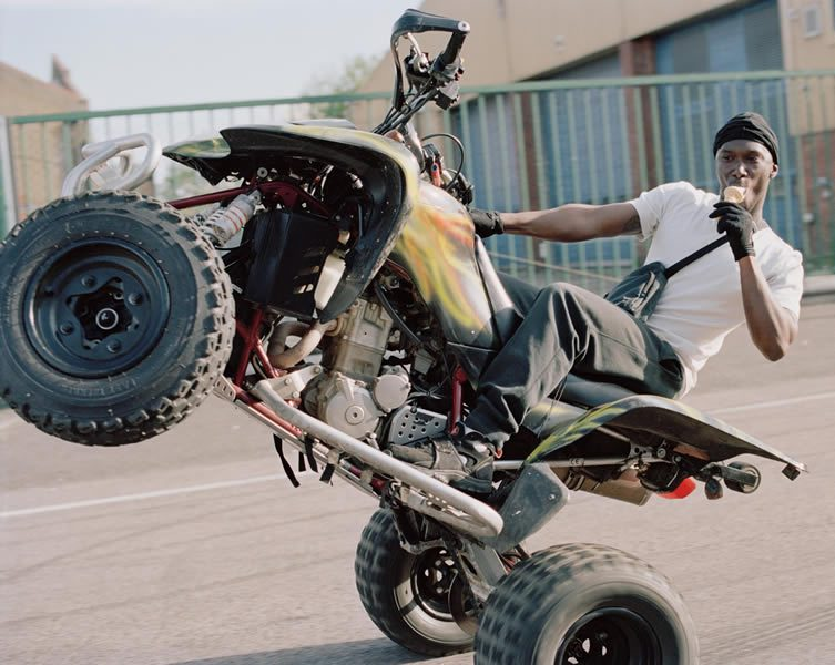 Spencer Murphy, Urban Dirt Bikers published by Hoxton Mini Press