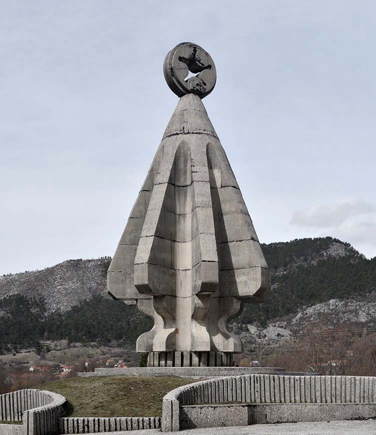 Monument to the Fallen Soldiers on Sutjeska