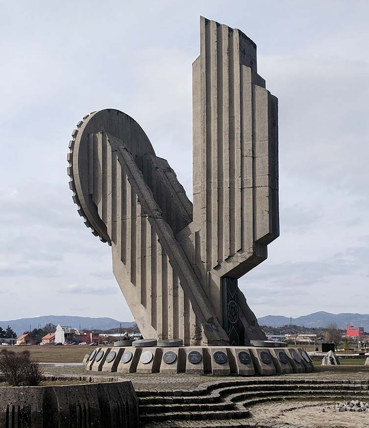Monument to Fallen Fighters of World War II