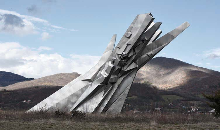 Courage: A Monument to the Fallen Soldiers of the Čačak Partisan Detachment