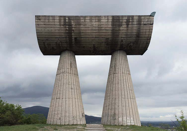 Shrine to the Revolution or Monument to Fallen Miners