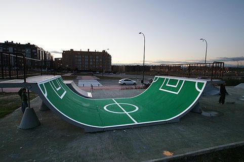 Δημιουργία Skatepark Spy4