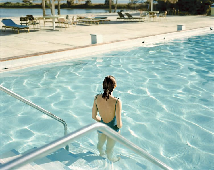 Stephen Shore, Ginger Shore, Causeway Inn, Tampa, Florida, November 17, 1977