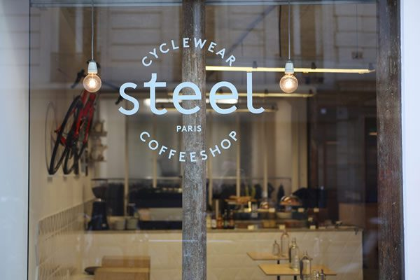 Steel Cyclewear & Coffeeshop, Paris