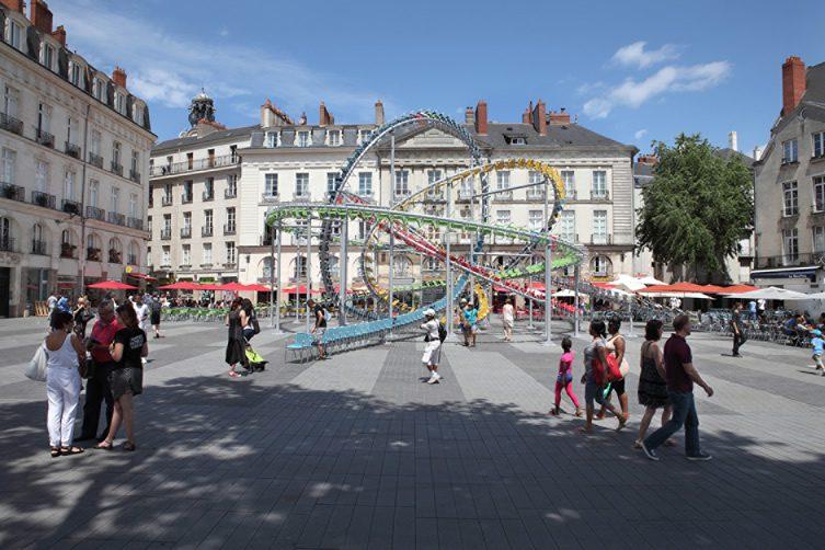 Baptiste Debombourg, Stellar at Le Voyage à Nantes