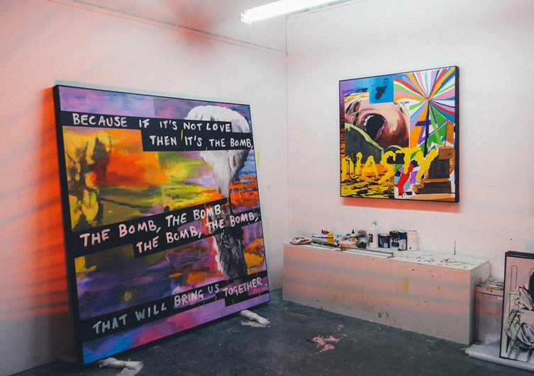 Stuart Semple — Anxiety Generation at Delahunty, London