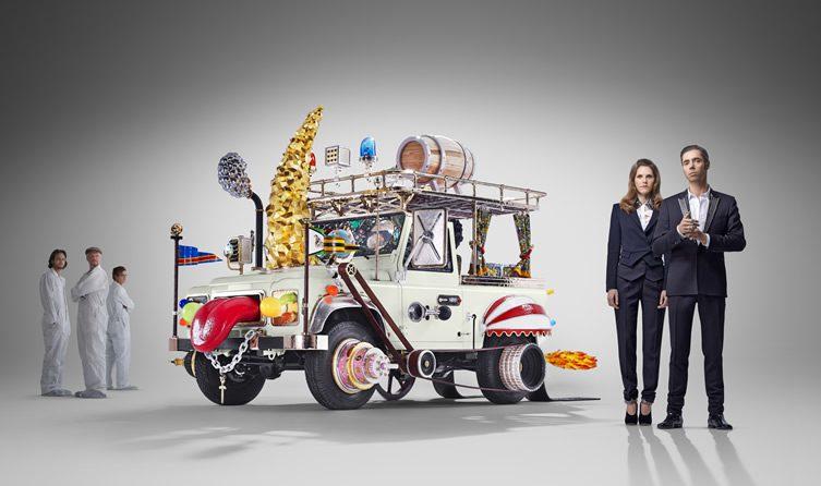 Studio Job and Land Rover —Automobile