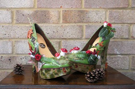 Milly J Shoes; The Secret Garden