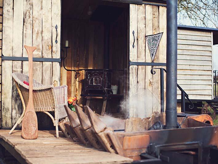 The Hot Tub Hideaway, Hay-on-Wye