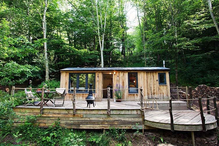 Wood Shack, Abergavenny
