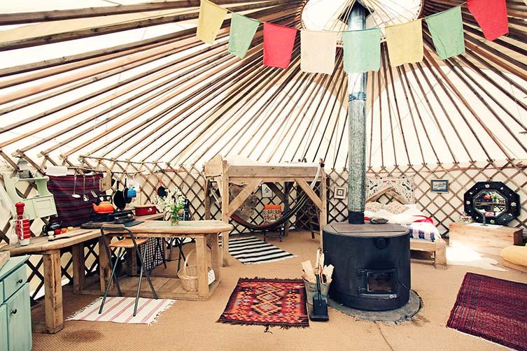 Black Mountains Yurt, Crickhowell