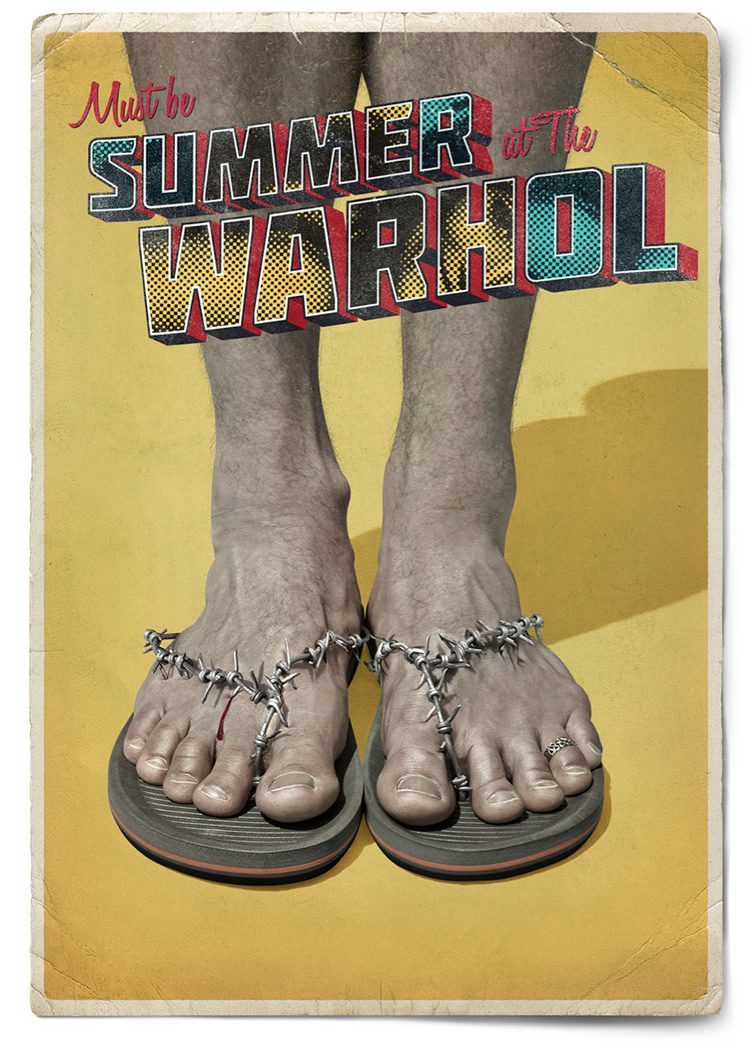 Summer at the Warhol Adverts
