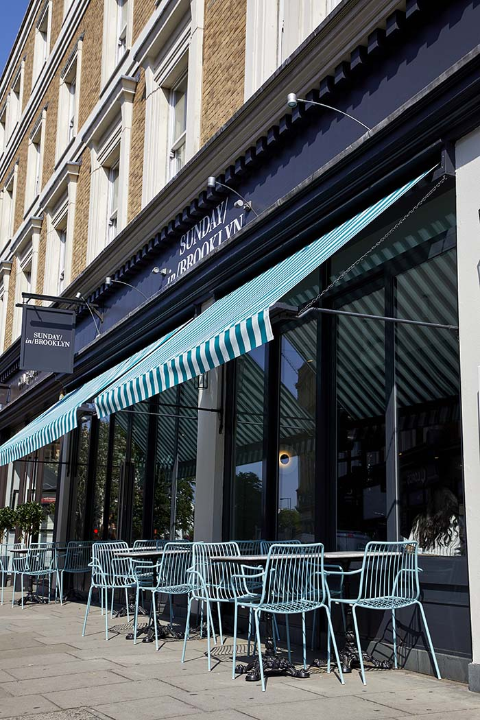 Sunday In Brooklyn Westbourne Grove London Restaurant and Bar