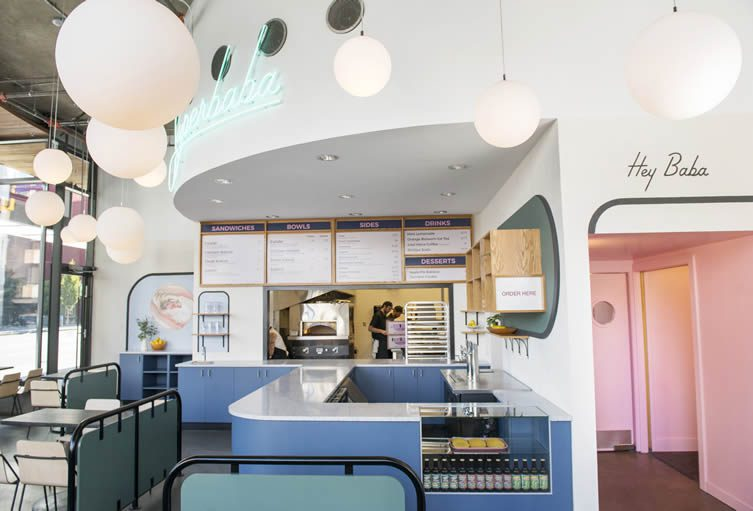Superbaba Victoria, Canada Middle Eastern Restaurant by Studio Roslyn