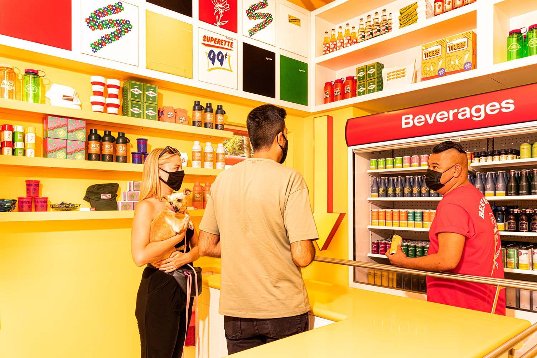 Superette Sip 'N' Smoke Toronto Cannabis Retail Concept