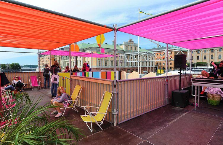 Superstructure at Stockholm Kulturfestival